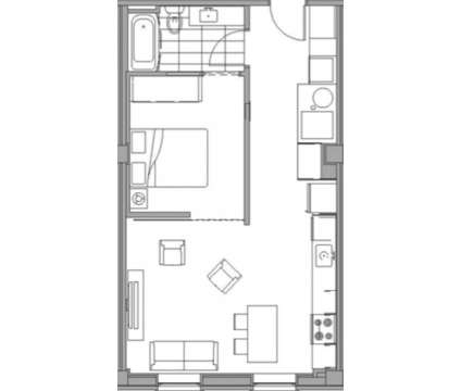 1 Bed - The Rowe at 201 Michigan St in Grand Rapids MI is a Apartment