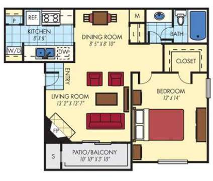 1 Bed - Hudson Commons at 9201 Glenwater Drive in Charlotte NC is a Apartment