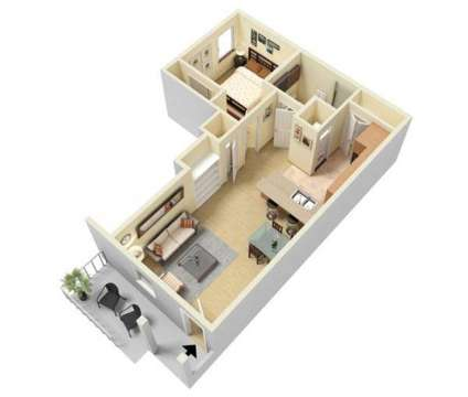 1 Bed - Westwood Villas Apartment Homes at 4100 West Illinois Ave in Midland TX is a Apartment