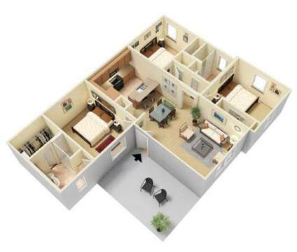 3 Beds - Westwood Villas Apartment Homes at 4100 West Illinois Ave in Midland TX is a Apartment