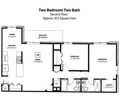 2 Beds - Lake Forest at 581 Lake Forest Ln in Muskegon MI is a Apartment