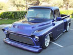 1957 Purple Chevrolet 3100
