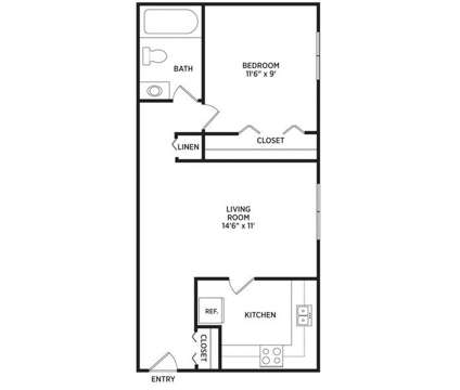 1 Bed - Abbott Pointe Apartments at 204 E Pointe Lane in East Lansing MI is a Apartment