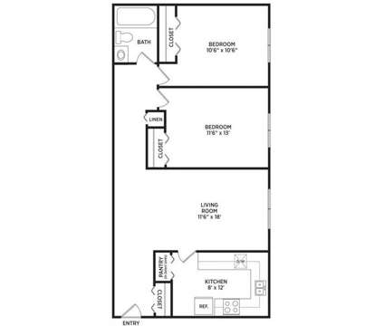 2 Beds - Abbott Pointe Apartments at 204 E Pointe Lane in East Lansing MI is a Apartment