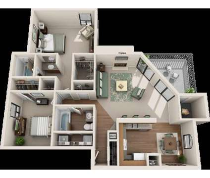 2 Beds - Rivercrest Apartments at 66 Daughtrey Avenue in Waco TX is a Apartment