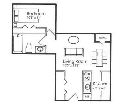 1 Bed - New Wellington Apartment Homes at 11333 Sugarpine Dr in Florissant MO is a Apartment