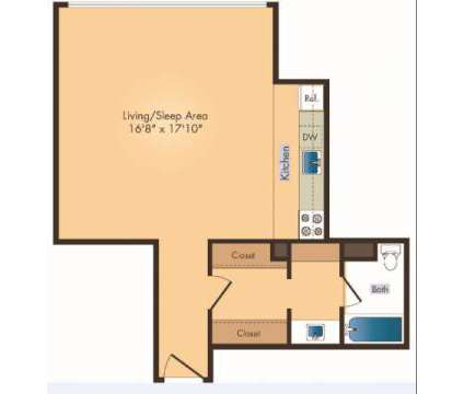 Studio - Seven Springs Apartments at 9310 Cherry Hill Rd in College Park MD is a Apartment