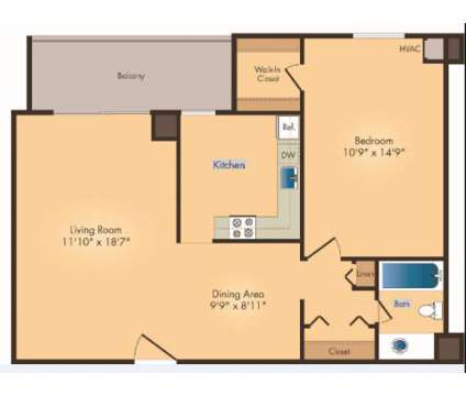 1 Bed - Seven Springs Apartments at 9310 Cherry Hill Rd in College Park MD is a Apartment