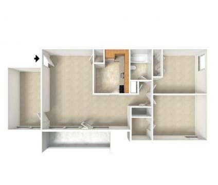 2 Beds - Seven Springs Apartments at 9310 Cherry Hill Rd in College Park MD is a Apartment