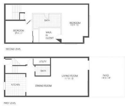 2 Beds - Richmond Commons Townhomes at 2160 Fontaine Rd in Lexington KY is a Apartment