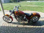2003 Custom Built Motorcycles Chopper Mccbad 145 Tribute Excellen