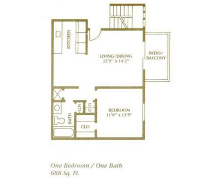 1 Bed - Reserve at South Pointe at 8900 Old Santa Fe Road in Kansas City MO is a Apartment