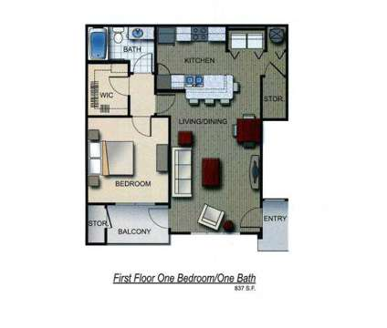 1 Bed - Flats at Maverick Trails at 428 Madison Ave in Orange Park FL is a Apartment