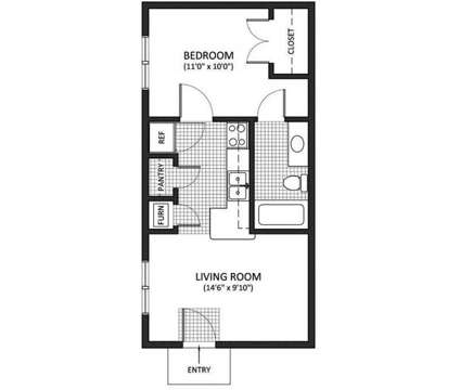 1 Bed - Harrods Point Apartments at 2160 Fort Harrods Dr in Lexington KY is a Apartment