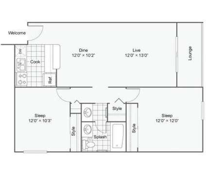 2 Beds - The Croft at 7200 East Evans Avenue in Denver CO is a Apartment