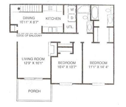 2 Beds - Yorkshire Woods at 1305 Buckingham Gate Blvd in Cuyahoga Falls OH is a Apartment