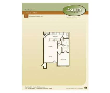 1 Bed - Ashley Station at 2321 Olive St in Columbus GA is a Apartment