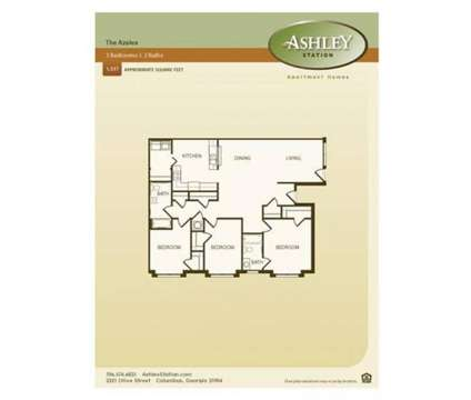 3 Beds - Ashley Station at 2321 Olive St in Columbus GA is a Apartment