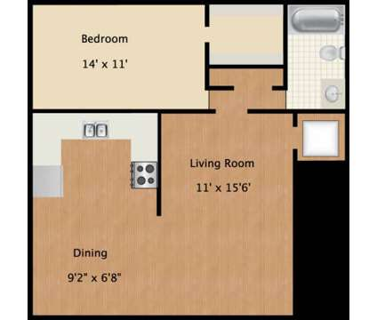 1 Bed - Colony House Apartments at 1510 Huntington Drive in Murfreesboro TN is a Apartment