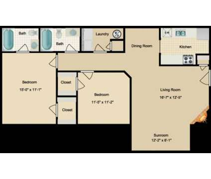 2 Beds - Northridge at 33 Constellation Cir in Jackson TN is a Apartment