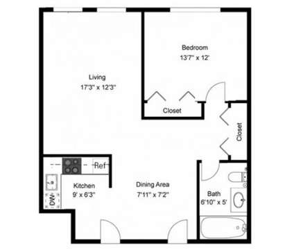 1 Bed - Heritage Gardens at 58 Heritage Ln in Leominster MA is a Apartment