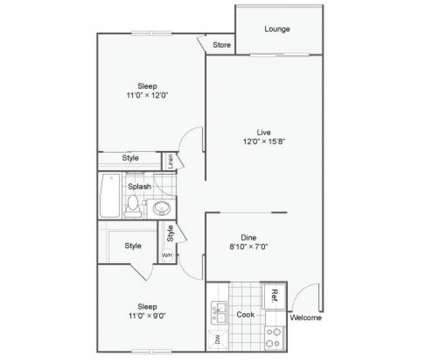 2 Beds - Miro@Dashpoint at 31004 19th Place S.w in Federal Way WA is a Apartment