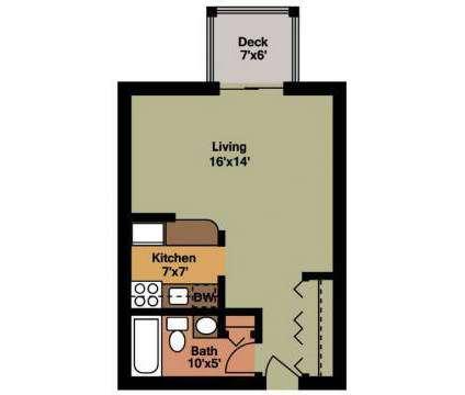 Studio - Autumn Ridge Apartments at 90 Gerrish Avenue in East Haven CT is a Apartment