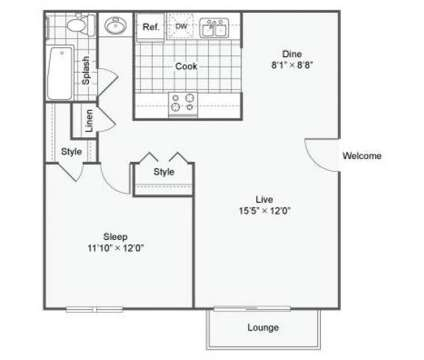 1 Bed - The Oslo at 11501 North Washington St in Northglenn CO is a Apartment