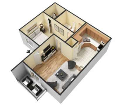 1 Bed - The Oslo at 6808 S I H 35 in Austin TX is a Apartment