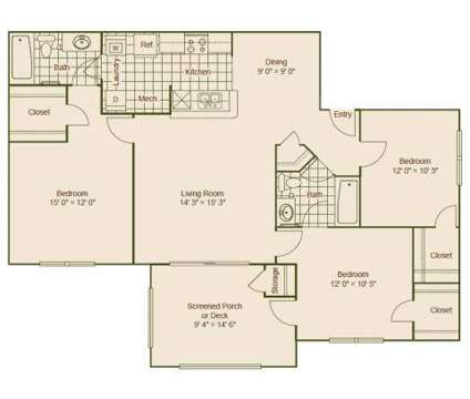 3 Beds - Sawgrass Cove at 4801 47th Ave in Bradenton FL is a Apartment