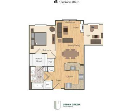 1 Bed - Urban Green at 3300 Galena Drive in Frederick MD is a Apartment