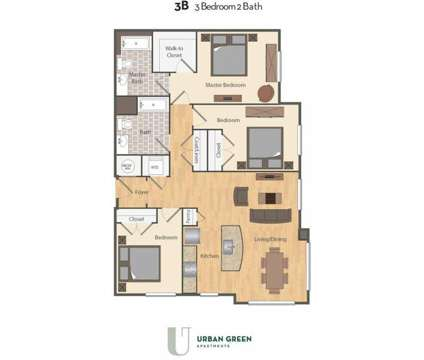 3 Beds - Urban Green at 3300 Galena Drive in Frederick MD is a Apartment