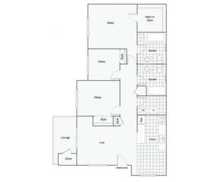 3 Beds - The Harrison at 8311 83rd Ave Court Sw in Lakewood WA is a Apartment
