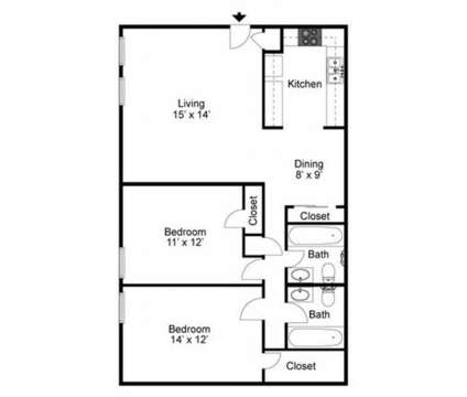 2 Beds - Buffalo Springs Apartments at 4615 South Virginia in Amarillo TX is a Apartment