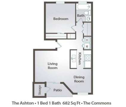 1 Bed - The Commons at 1600 Standiford Ave in Modesto CA is a Apartment