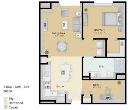1 Bed - East Main Apartments at 274 East Main St in Norton MA is a Apartment