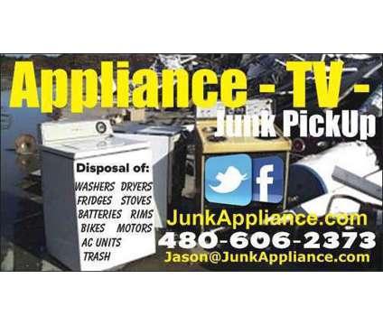 Appliance disposal is a Hauling service in Queen Creek AZ
