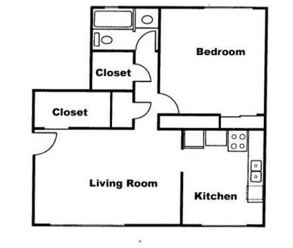 1 Bed - Parkwood Manor at 11020 Lamp St in Omaha NE is a Apartment