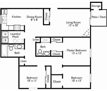 3 Beds - The Pointe Apartments at 8211 S 87th Plaza in La Vista NE is a Apartment