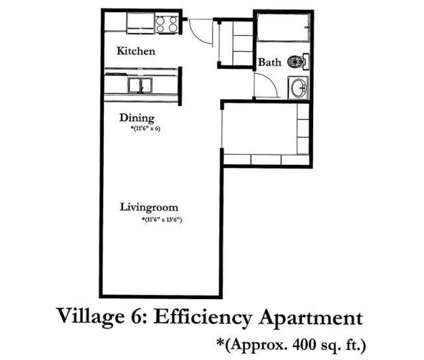 Studio - Village Apartments at 407 Southwest 11th Ave in Forest Lake MN is a Apartment