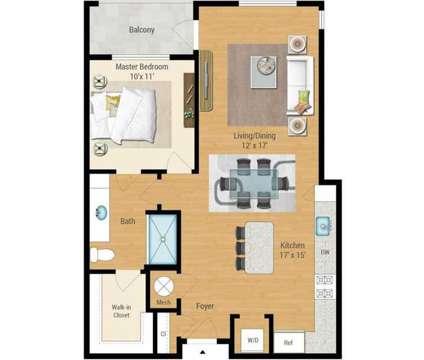 1 Bed - Aqua on the Levee at 100 Aqua Way in Newport KY is a Apartment