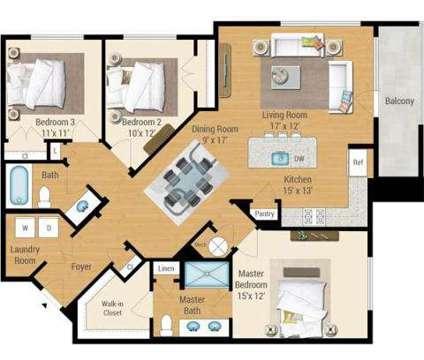 3 Beds - Aqua on the Levee at 100 Aqua Way in Newport KY is a Apartment