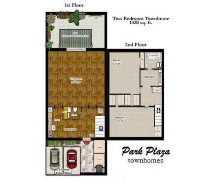 2 Beds - Park Plaza Townhomes at 2508 East 11th St in Odessa TX is a Apartment