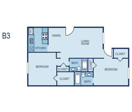 2 Beds - Villas at Tenison Park at 2222 Graycliff Drive in Dallas TX is a Apartment
