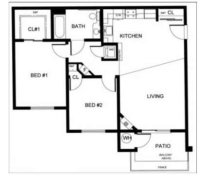 2 Beds - Creekside Village Senior Apartments at 30 Castlewood Dr in Pittsburg CA is a Apartment