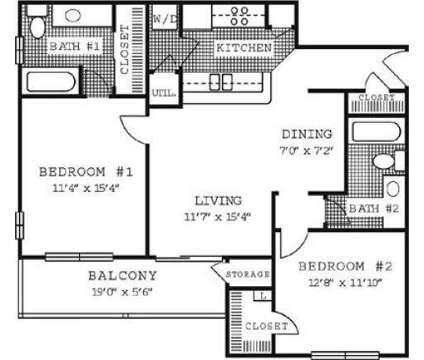 2 Beds - Lincoln Ridge at 4 S Lincoln Ridge Drive in Madison WI is a Apartment