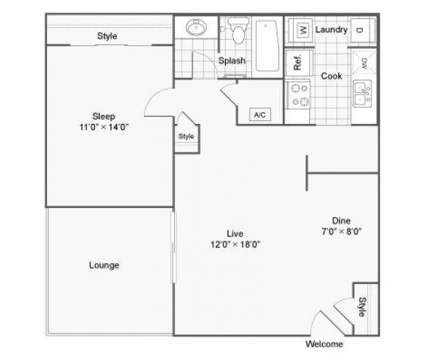 1 Bed - The Taylor Apartment Homes at 1500 Bellemeade Dr Sw in Marietta GA is a Apartment