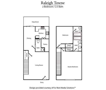 2 Beds - Raleigh Towne Apartments at 523 Wade Avenue in Raleigh NC is a Apartment