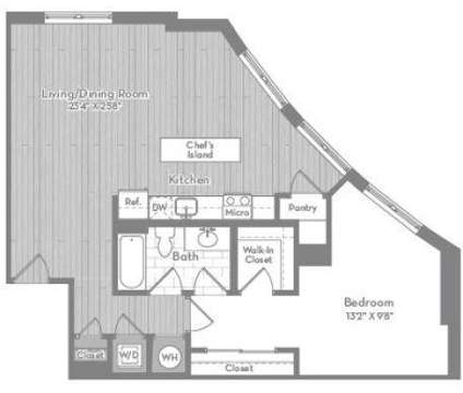 1 Bed - Modera Tempo at 5760 Dow Ave in Alexandria VA is a Apartment