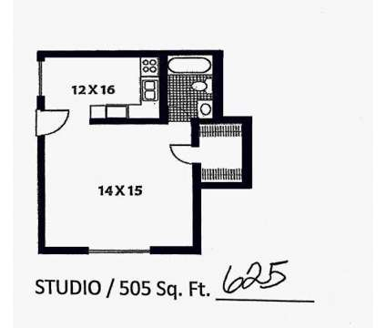Studio - Eagle Court and Eagle Ridge at 5772 Merrill Rd Apartment 12 in Jacksonville FL is a Apartment